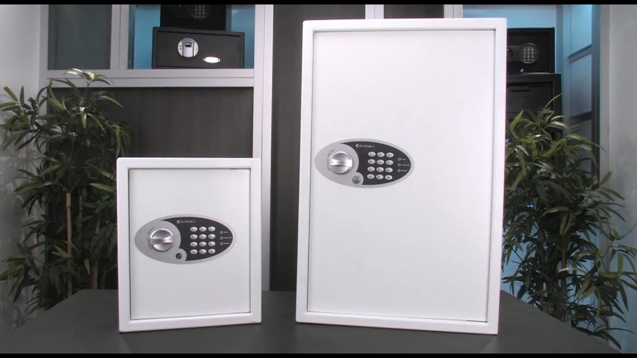 barska digital multikey wall safes