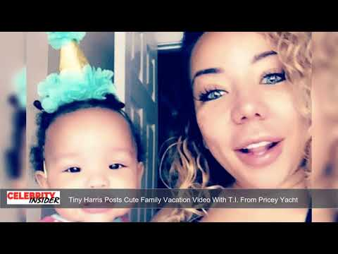 Tiny Harris Posts Cute Family Vacation Video With T.I. From Pricey Yacht