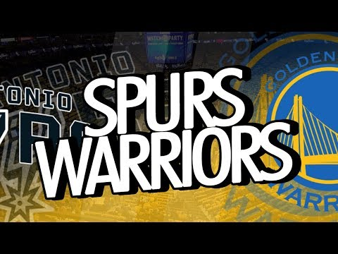 SAN ANTONIO SPURS vs GOLDEN STATE WARRIORS | NBA - PLAYOFFS | 16/04/18 [AO VIVO]