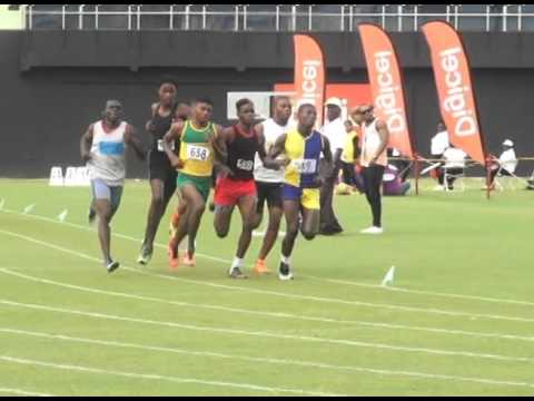 National Schools Track and Field 800m boys under 20