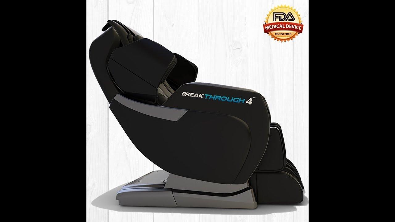 Medical Breakthrough 4 Massage Chair Recliner Zero Gravity Built In Hea Youtube