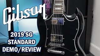Gibson SG Standard 2019 Review/Demo