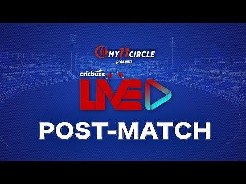 Cricbuzz LIVE: The Final, New Zealand V England, Post-match Show