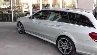 Mercedes Benz E-Class Wagon 2014 Videos
