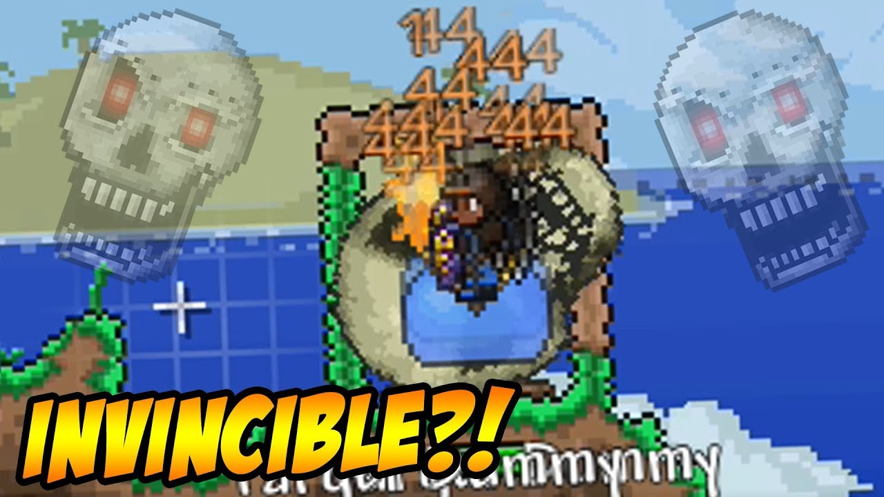 Terraria Invincibility Glitch Youtube