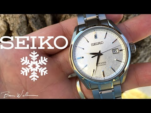 Seiko Baby Grand Snowflake - SARX055 Review