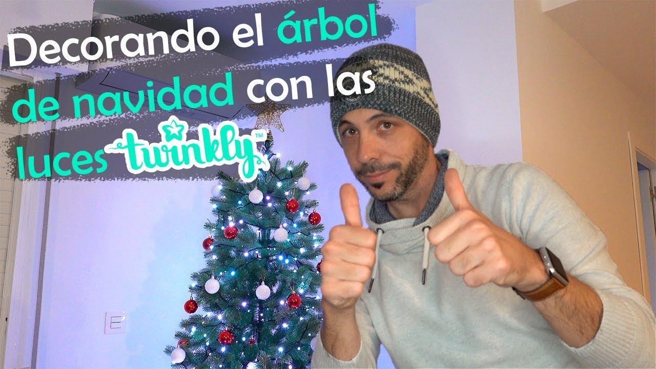 Decorando el árbol de Navidad con las luces inteligentes Twinkly | Español | 4K