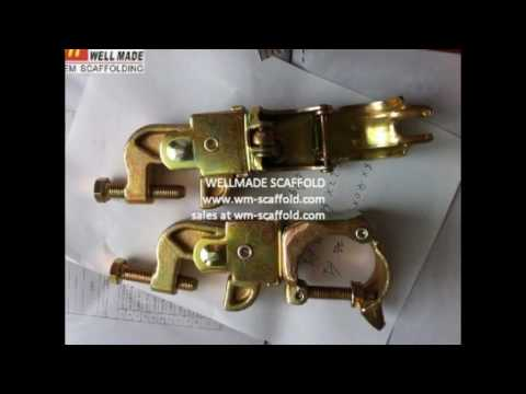 JIS Scaffolding Fixed  Beam Clamps