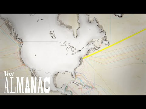Thin underwater cables hold the internet. See a map of them