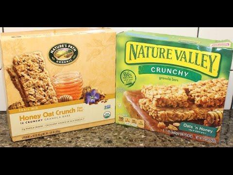 Nature's Path Honey Oat Crunch vs Nature Valley Oats 'n Honey Blind Taste Test