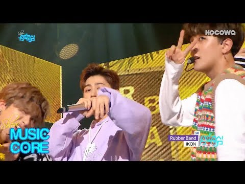 iKON - Rubber Band | 아이콘 - 고무줄다리기 [Show Music Core Ep 581]