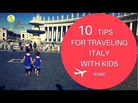 Traveling Italy With Kids  ROME