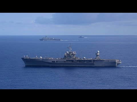 Another US military warship sails near China