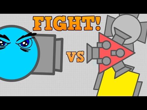 NEW DIEP.IO UNNAMED CLASS vs BOSSES!! // Strongest Boss!? (Diep.io Update)