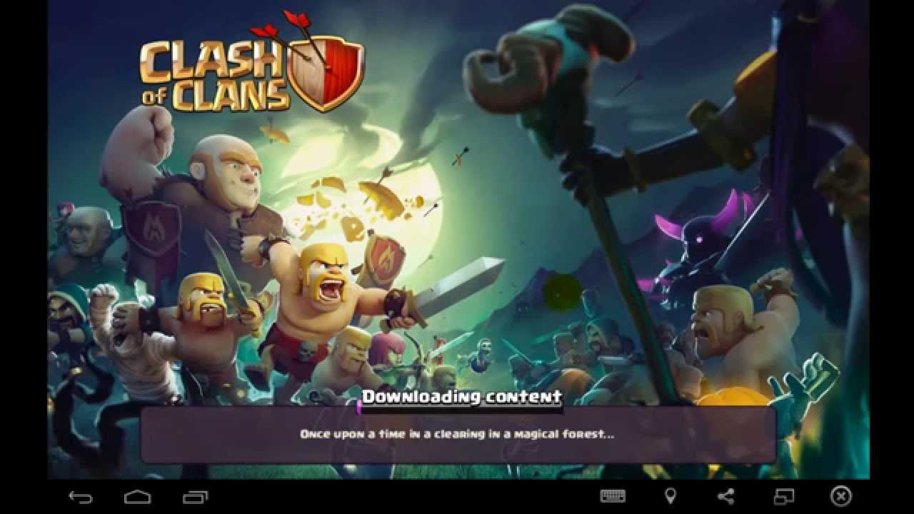 clash of clans download windows xp