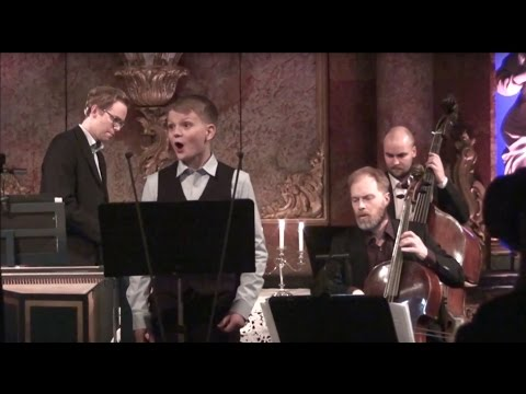 What passion cannot music raise and quell | treble Aksel Rykkvin (13y), Gunnar Hauge & Barokkanerne