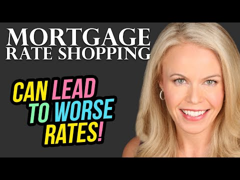 How Rate Shopping Can Lead To A WORSE Mortgage Rate