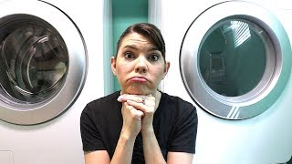 LAUNDRY DAY SPEED CLEANING ROUTINE // CLEANING MOTIVATION // STAY AT HOME MOM