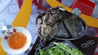 Món Ăn Dân Dã l Cá Lóc Hấp Muối Cuốn Lá Cách