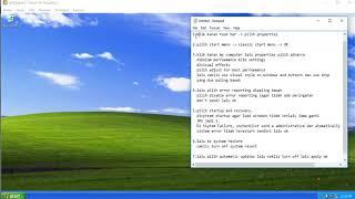 Cara Mempercepat Kinerja Windows XP