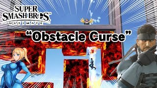 """Can Snake & Wario Make It Through an """"Obstacle Curse"""" in SSBU Without Jumping & Only Using Grenades?"""