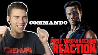 Commando (1985) - MOVIE REACTION - FIRST TIME WATCHING