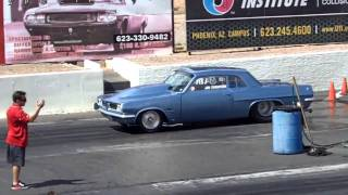1963 Pontiac Tempest (Jim Thompson) 8 second pass