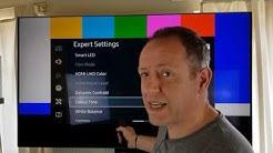 Step by Step 4K / HD TV Color Setup - Samsung KS, Sony XBR, Vizio, LG, TCL.