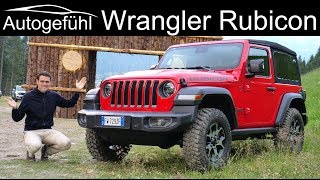 Jeep Wrangler Rubicon JL offroad FULL REVIEW vs Jeep Gladiator Rubicon - Autogefühl