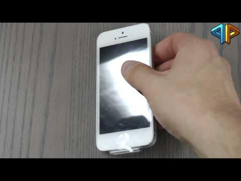 iPhone 5 ausgepackt und angeschaut