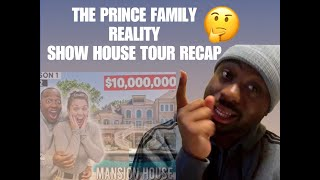 THE PRINCE FAMILY REALITY SHOW HOUSE TOUR 🏡 (TWTPF) / RECAP (FREE GIVEAWAY)