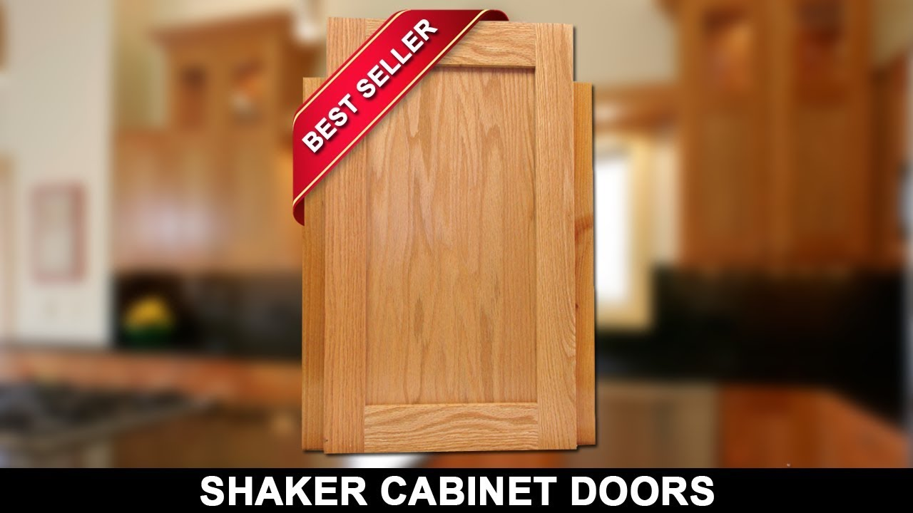 Shaker Cabinet Doors For Sale Unfinished Oak Cheap Cabinetdoors Com Youtube