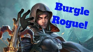 Tess Burgle Rogue! Ultimate Azalina Value! [Hearthstone Game of the Day]
