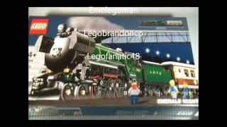 Lego 10194 Review Emerald Night Creator Train