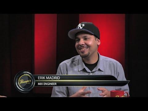 "Mix Engineer for Kyle's ""iSpy"", Erik Madrid – Pensado's Place #320"