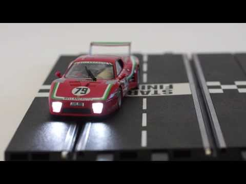 Carrera Digital Slot Car light control – Demonstration by www.slotcar.co.nz