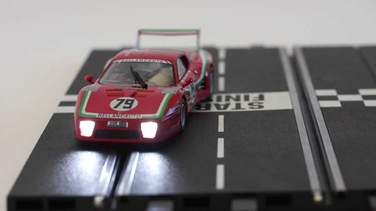 Carrera Digital Slot Car light control - Demonstration by www slotcar co nz