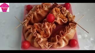 Yapımı Çok pratik Krep Börek Tarifi