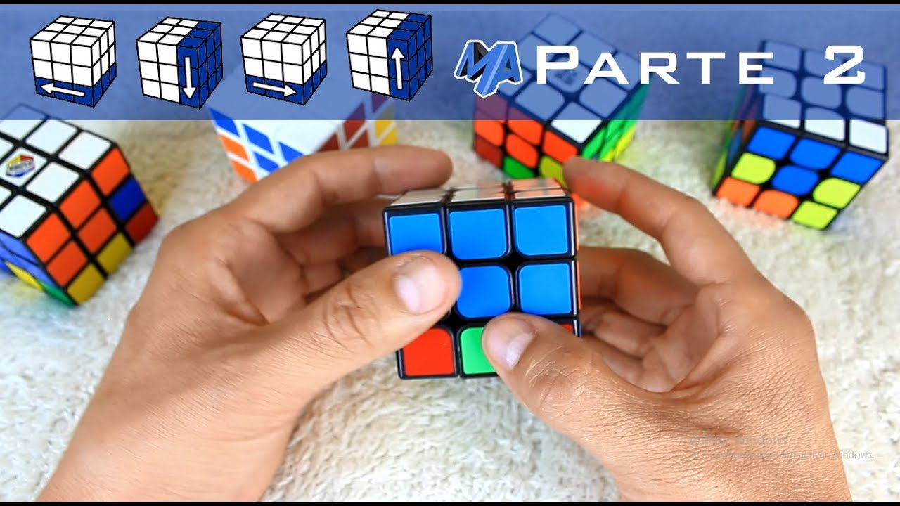 Como Armar Un Cubo Rubik Principiantes Parte 2 De 3 Youtube