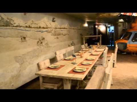 Ресторан северной кухни «Экспедиция» в Новосибирске