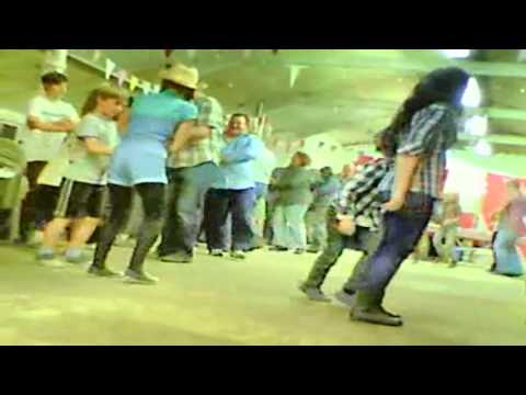 Kids love to barn dance