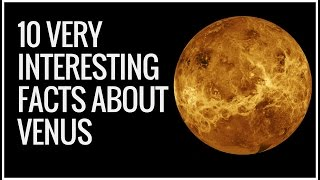 Venus Facts | Venus Facts For Kids | 10 Amazing Facts About Venus