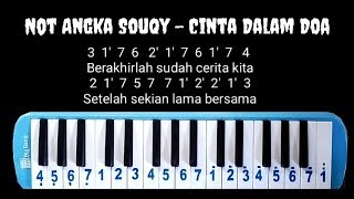 Chords For Not Pianika Souqy Cinta Dalam Doa