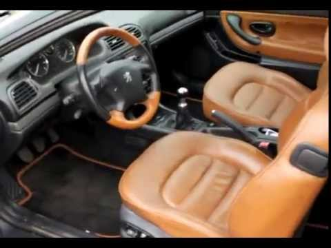 peugeot 406 coup pininfarina 3 0 v6 quick tour youtube. Black Bedroom Furniture Sets. Home Design Ideas
