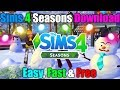 How To Get The Sims 4: Deluxe Edition + Seasons With All Stuff Packs   Easy Tutorial