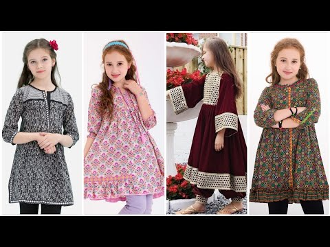 Stylish branded Dress Designing Idea's For 5 to 10 year girls