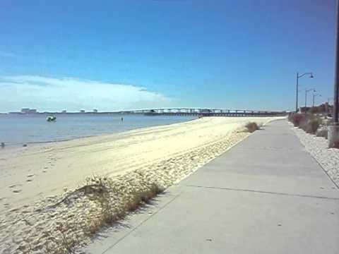 Ocean Springs /Biloxi MS. Bay Beach.Gulf of Mexico