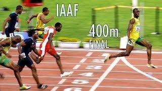 Usain Bolt Moscou 37.36s 400m (4  x 100) Final - 18/08/2013