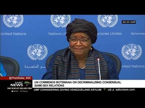 UN commends Botswana on decriminalising same-sex relations