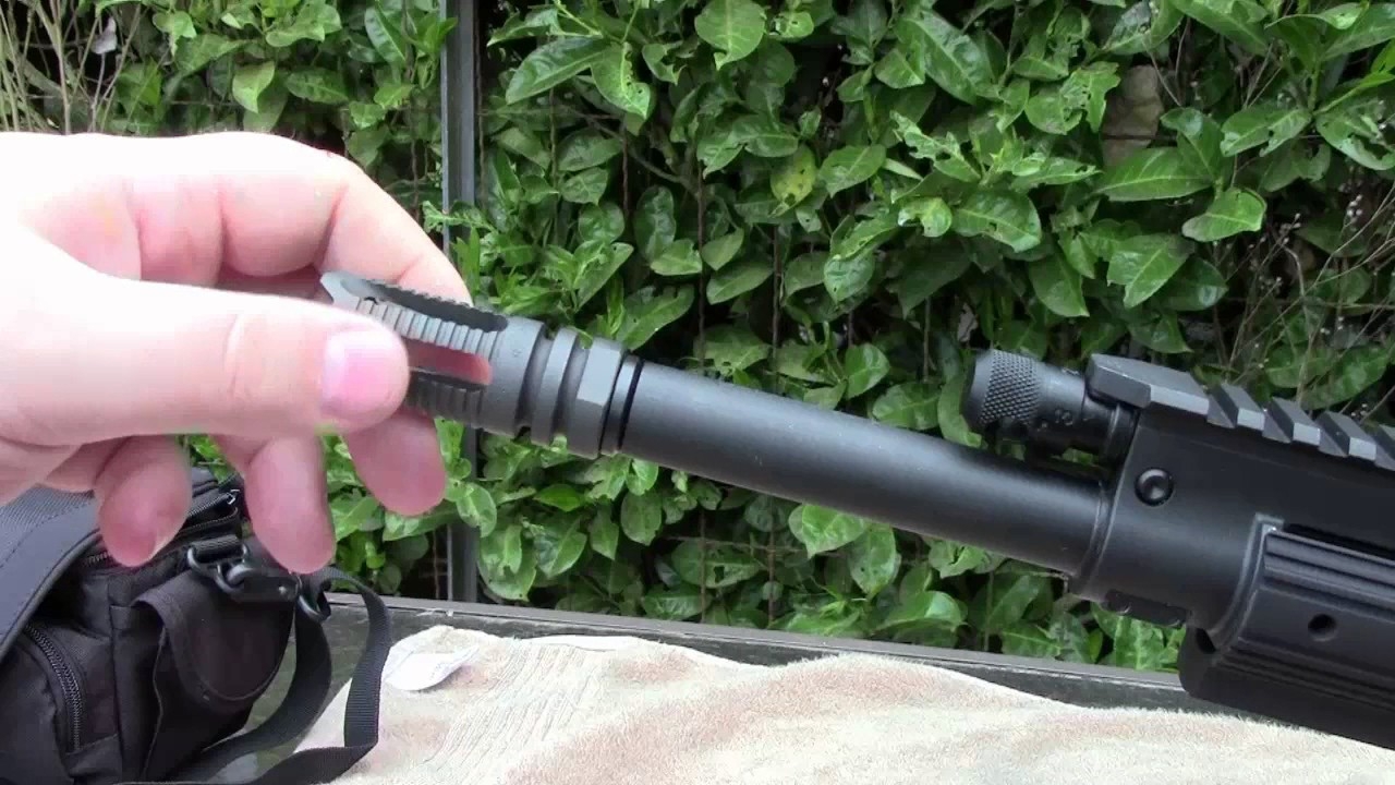 How to Change out a Flash Hider/Muzzle Brake on a AR-15